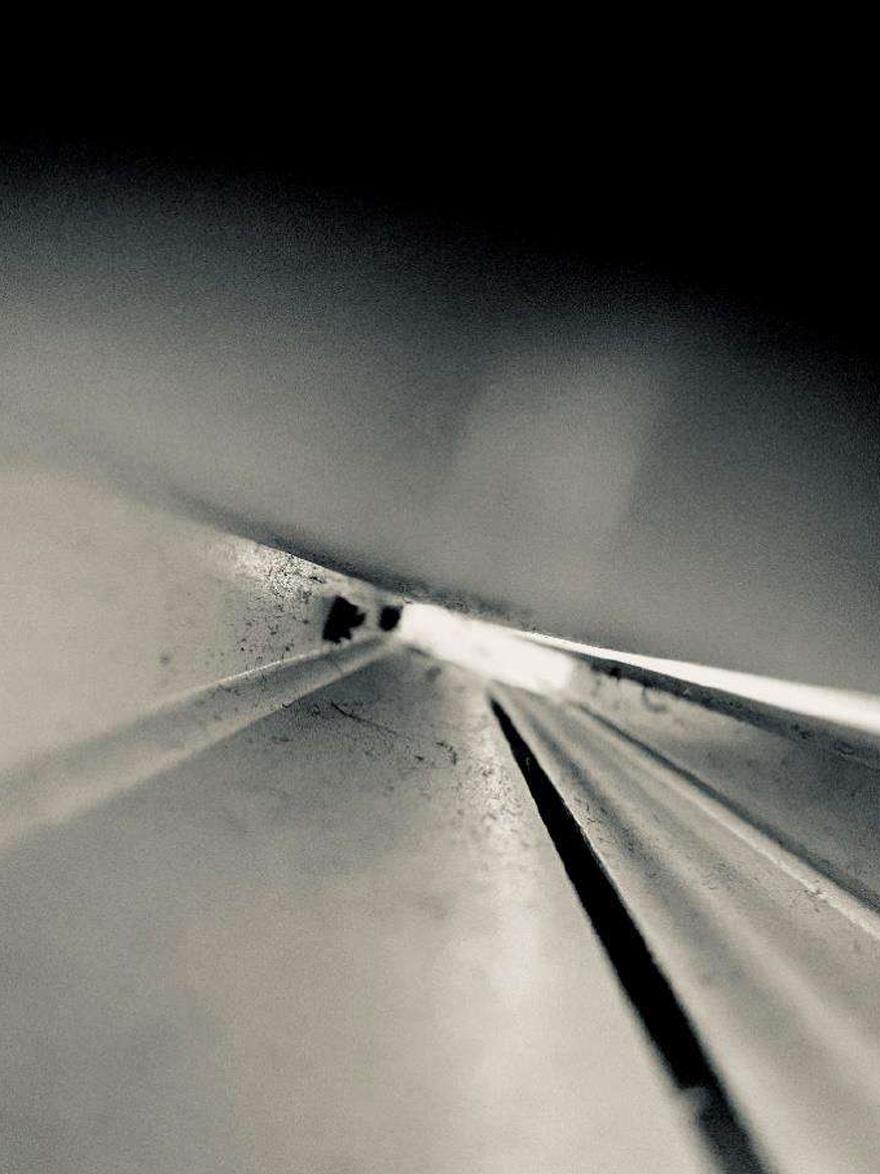 """Mención de Honor: """"La lumière au bout du tunnel"""". Autora: Irene Á. (1º ESO, 12 años)"""
