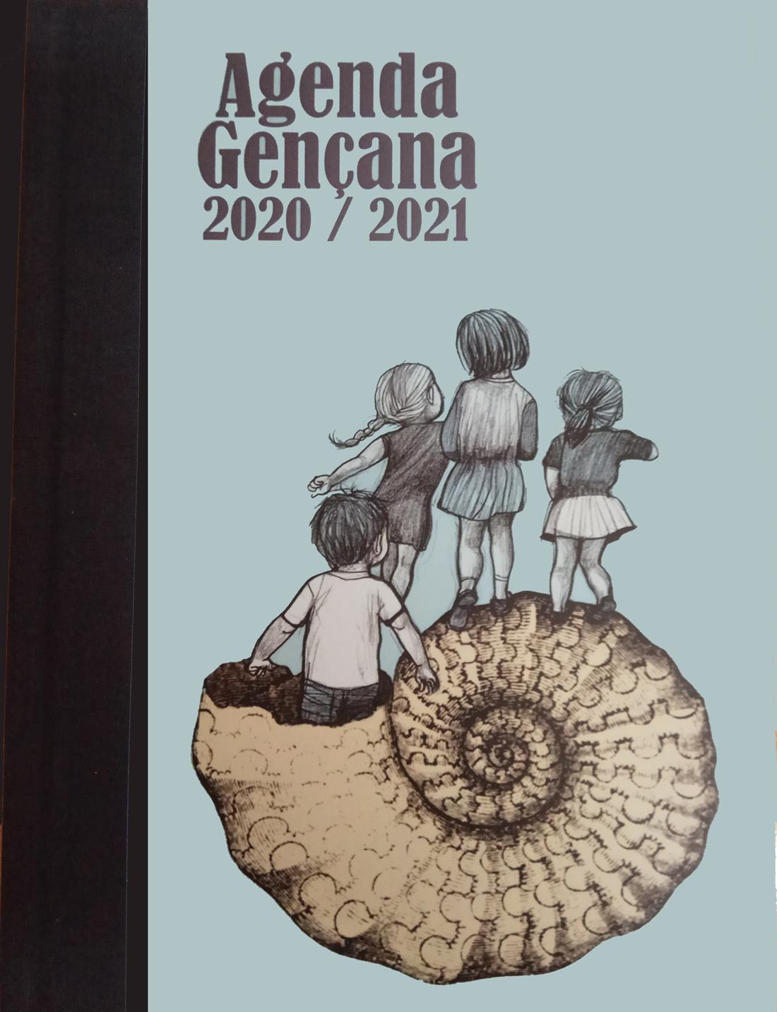 agenda escolar ilustrada por noemi villamuza