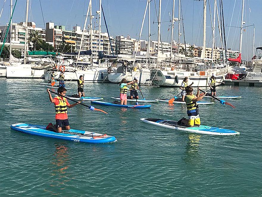 paddle surf dias azules burriana