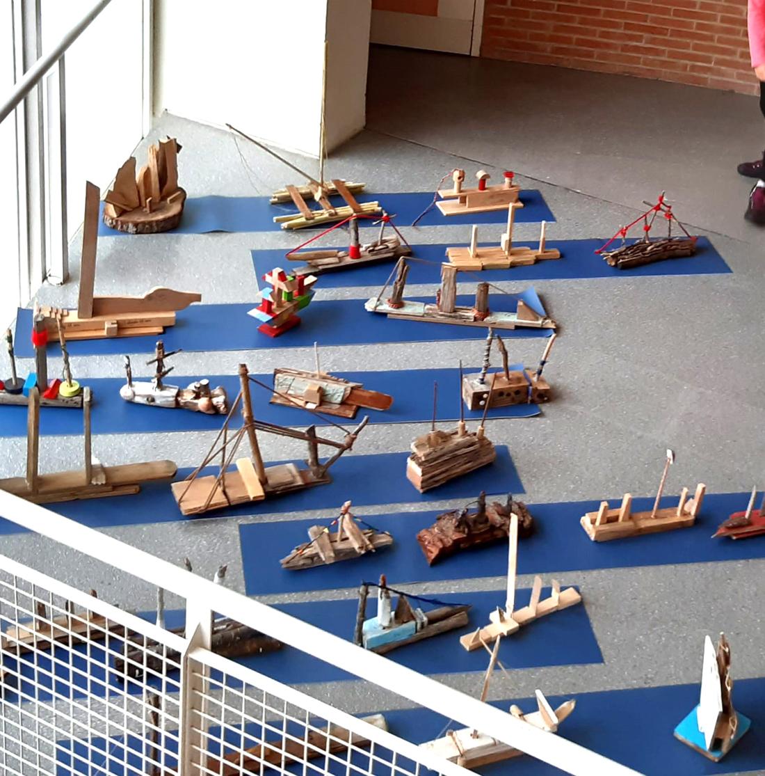 barcos de madera 5º primaria gençana