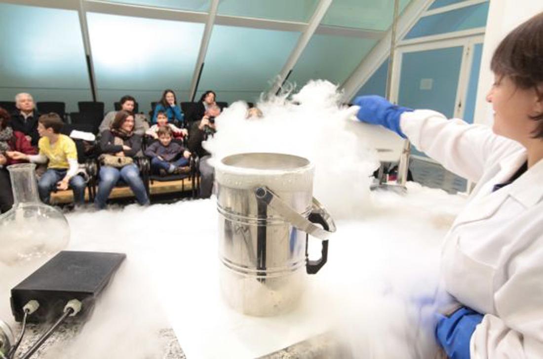 taller frio, frío, museo de las ciencias principe felipe
