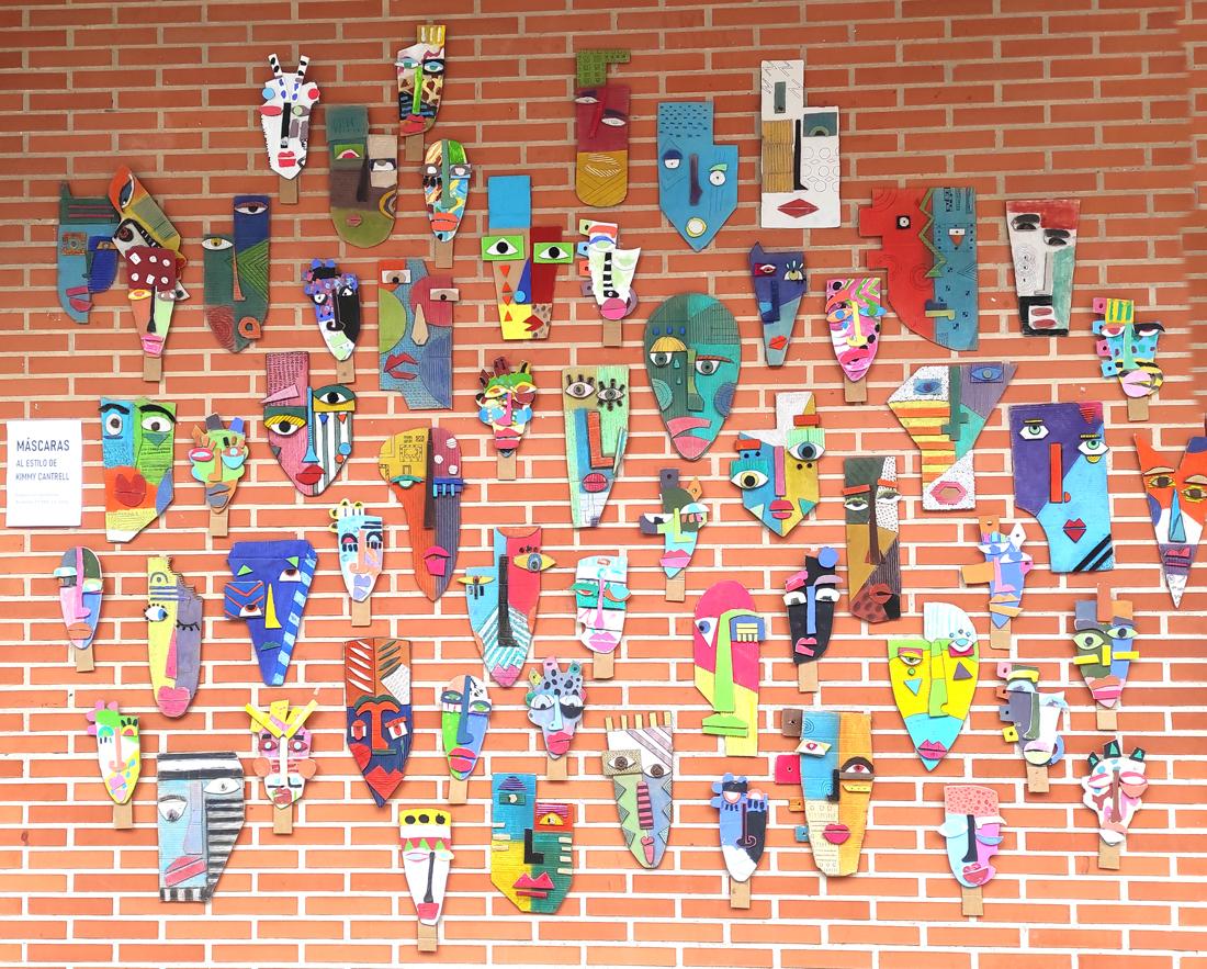 exposicion colectiva alumnos 5 años y 2º eso gençana. arte