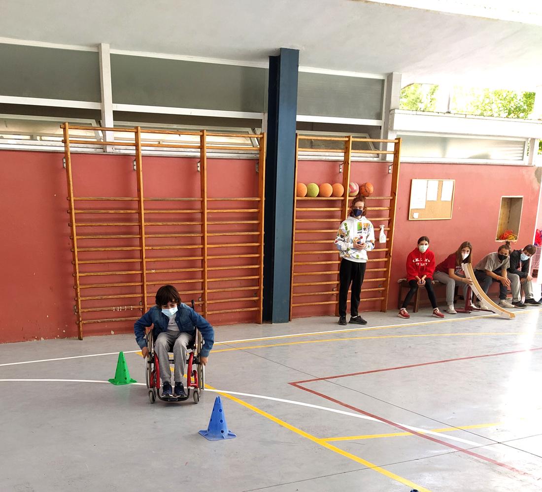 pista deportiva centro educativo gençana
