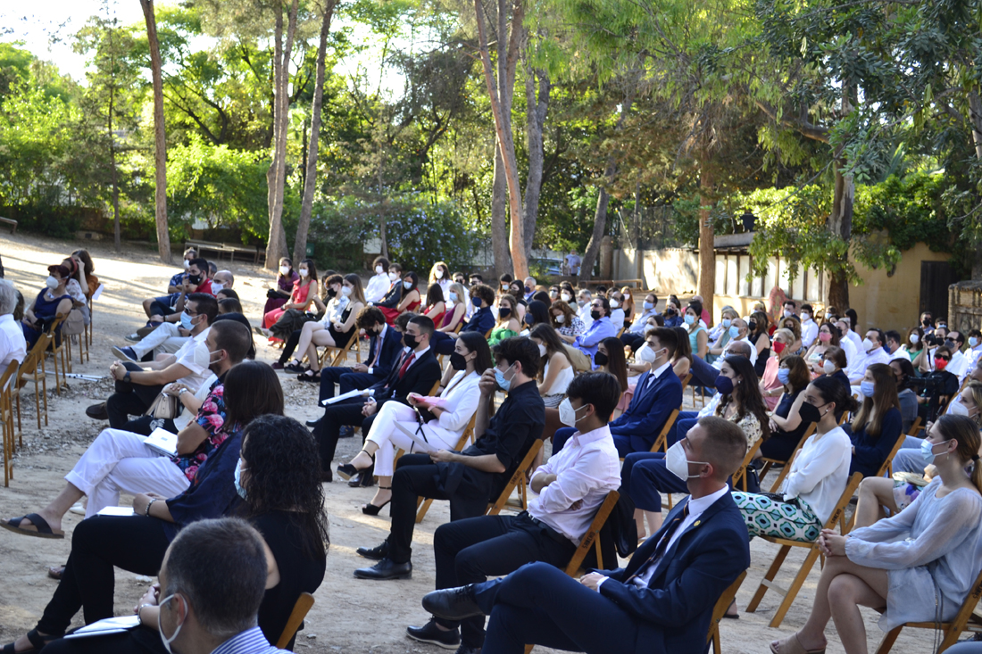 acto de homenaje bachillerato centro educativo gençana